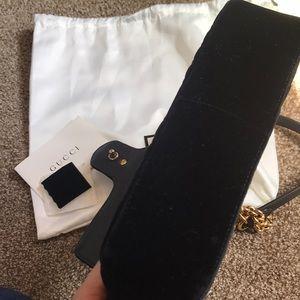 Gucci Bags - Gucci Marmont mini velvet bag